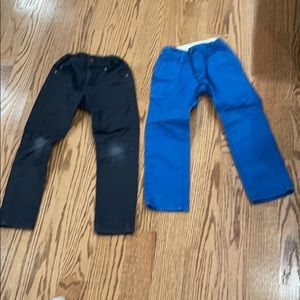 Jeans size 5 cap and H&M slim kids